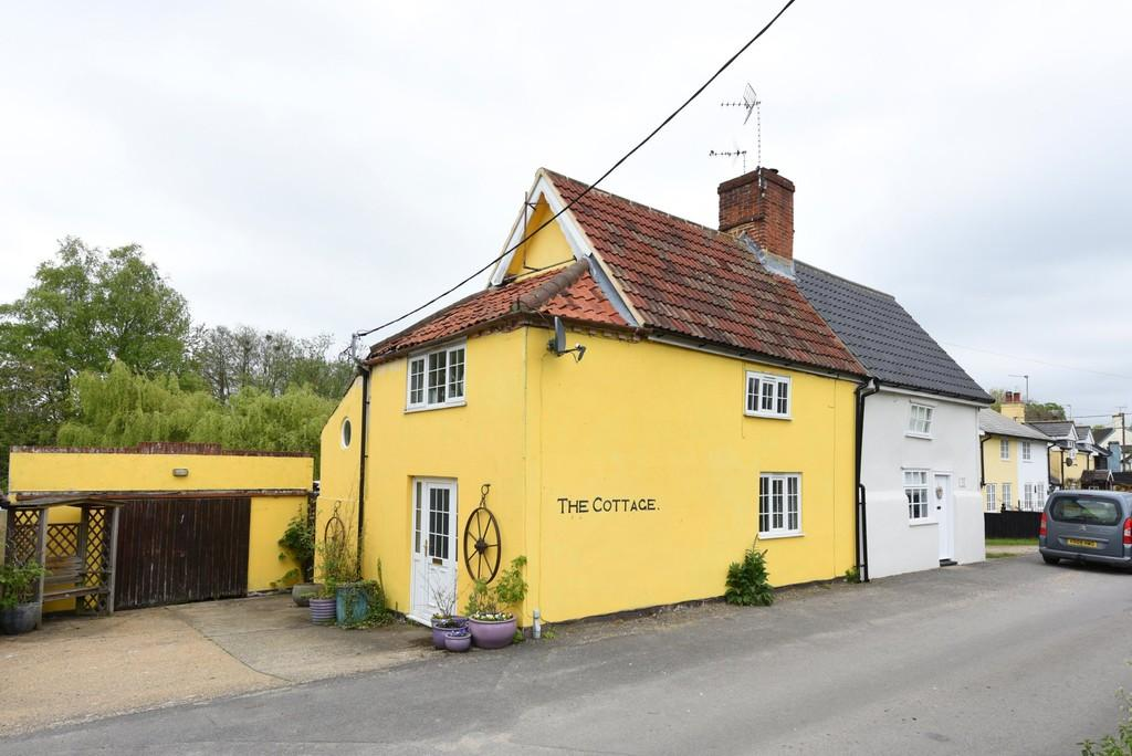 2 Bedrooms Cottage House for sale in Heveningham, Nr Halesworth, Suffolk