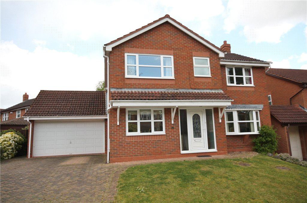 4 Bedrooms Detached House for sale in Prince Rupert Avenue, Powick, Worcester, Worcestershire, WR2