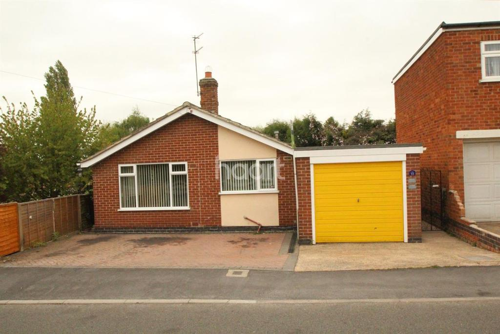 2 Bedrooms Bungalow for sale in Sullington Road, Shepshed