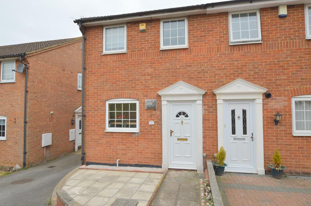 2 Bedrooms Semi Detached House for sale in Felton Close, Wigmore, Luton, LU2 9TD
