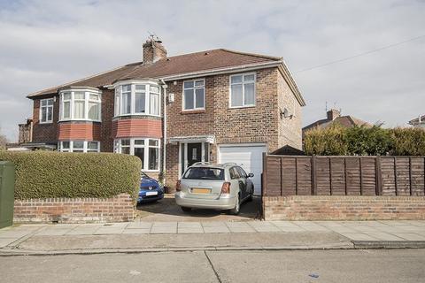 4 bedroom semi-detached house for sale - Park Avenue, Grange Park, Gosforth, Newcastle upon Tyne