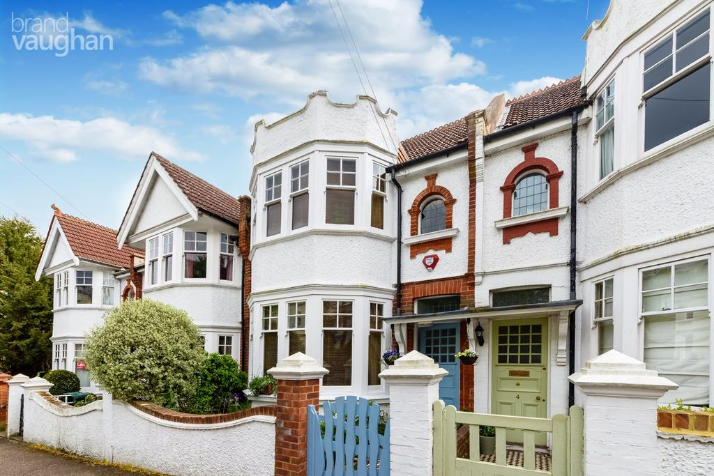 4 Bedrooms Terraced House for sale in Cumberland Road, Brighton, BN1