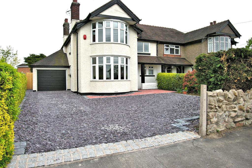 3 Bedrooms Semi Detached House for sale in OLD CROFT ROAD, WALTON ON THE HILL, STAFFORD ST17