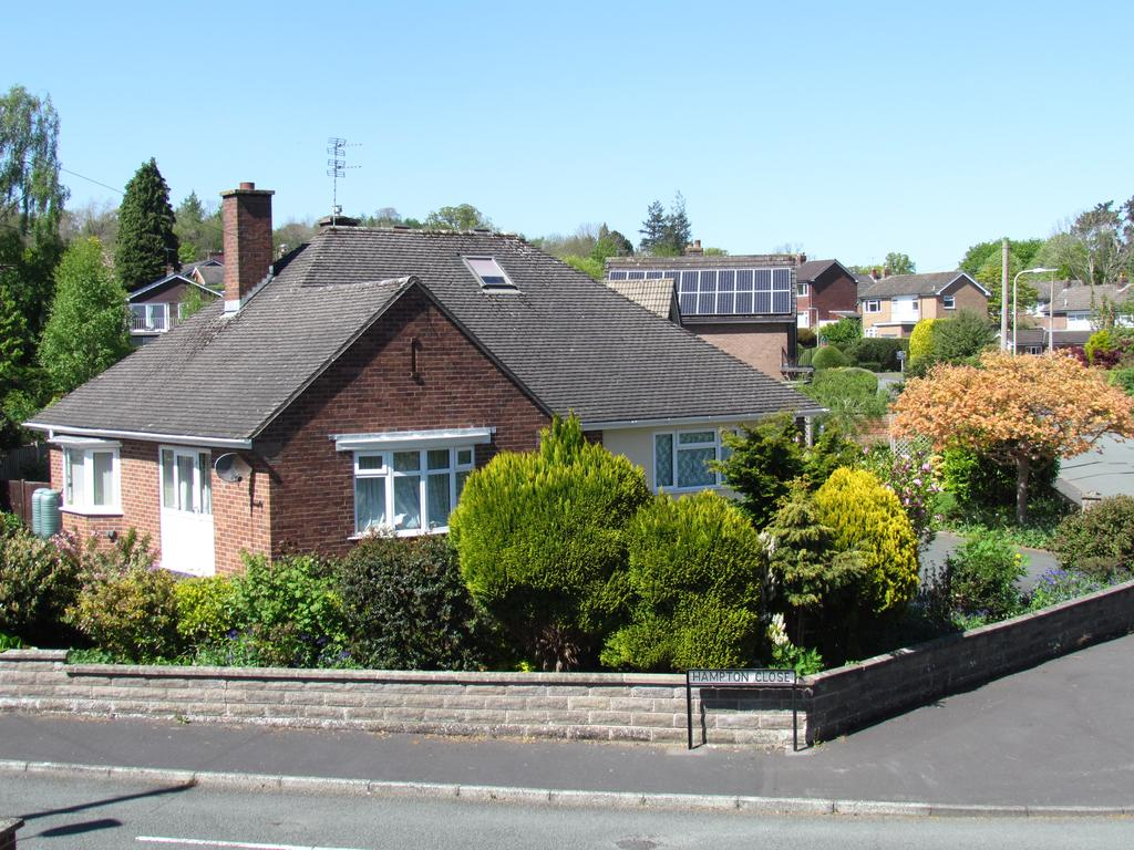 3 Bedrooms Detached Bungalow for sale in Hampton Close, Oswestry SY11