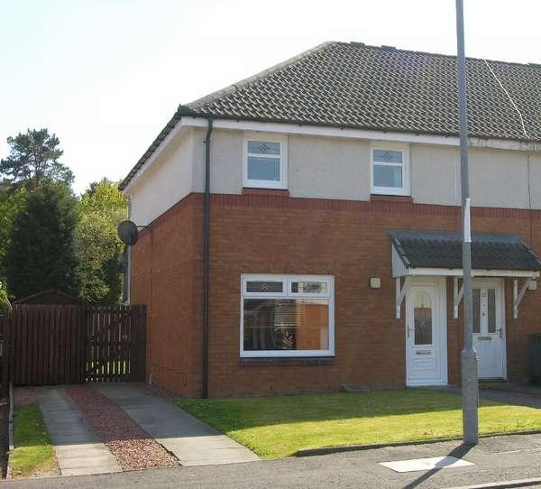 3 Bedrooms End Of Terrace House for sale in 9 St. Andrew's Way, Wishaw, ML2 8SS