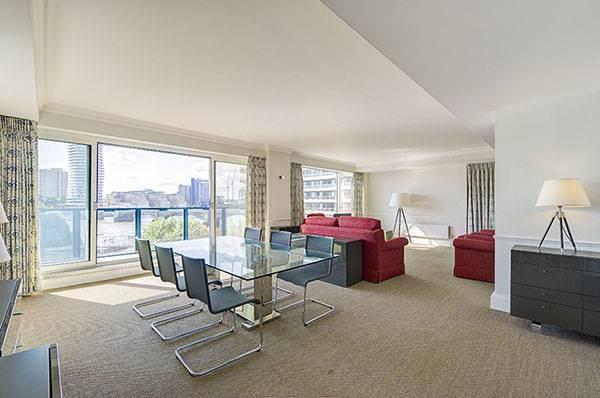 The belvedere chelsea harbour london sw10 4 bed for Chelsea apartments for sale