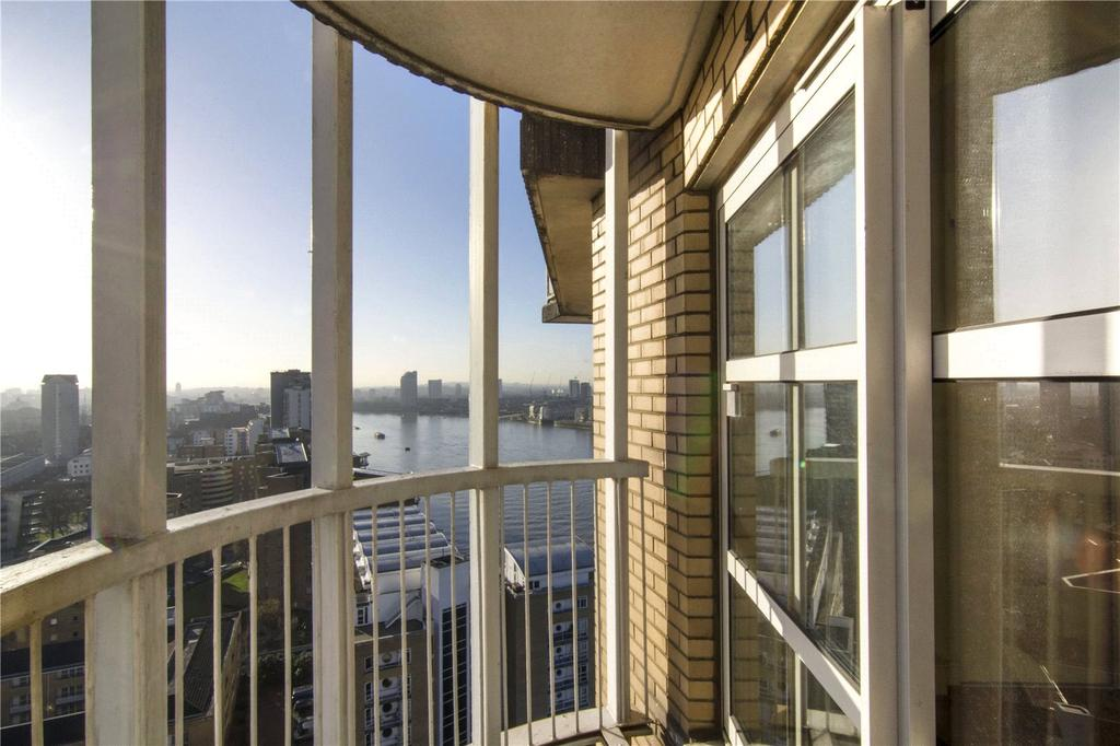 Cascades tower 4 westferry road london e14 2 bed flat for 18th floor balcony video