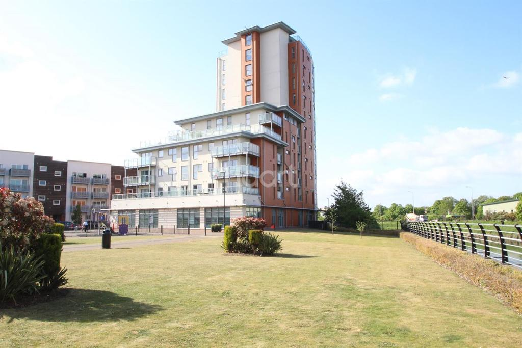 2 Bedrooms Flat for sale in Reavell place, Ipswich