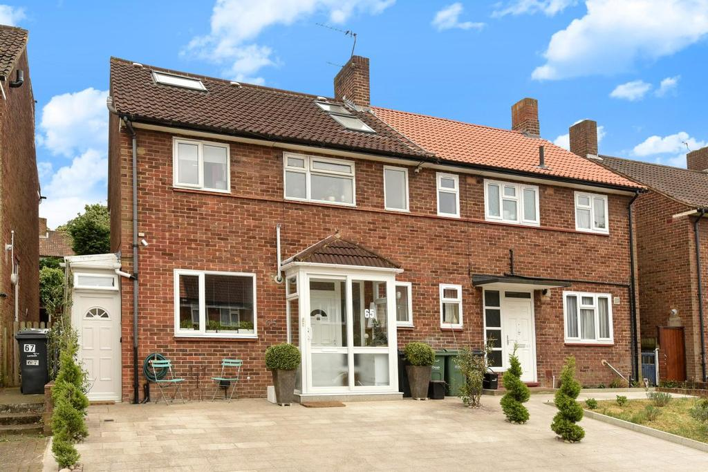 4 Bedrooms Semi Detached House for sale in Truslove Road, West Norwood