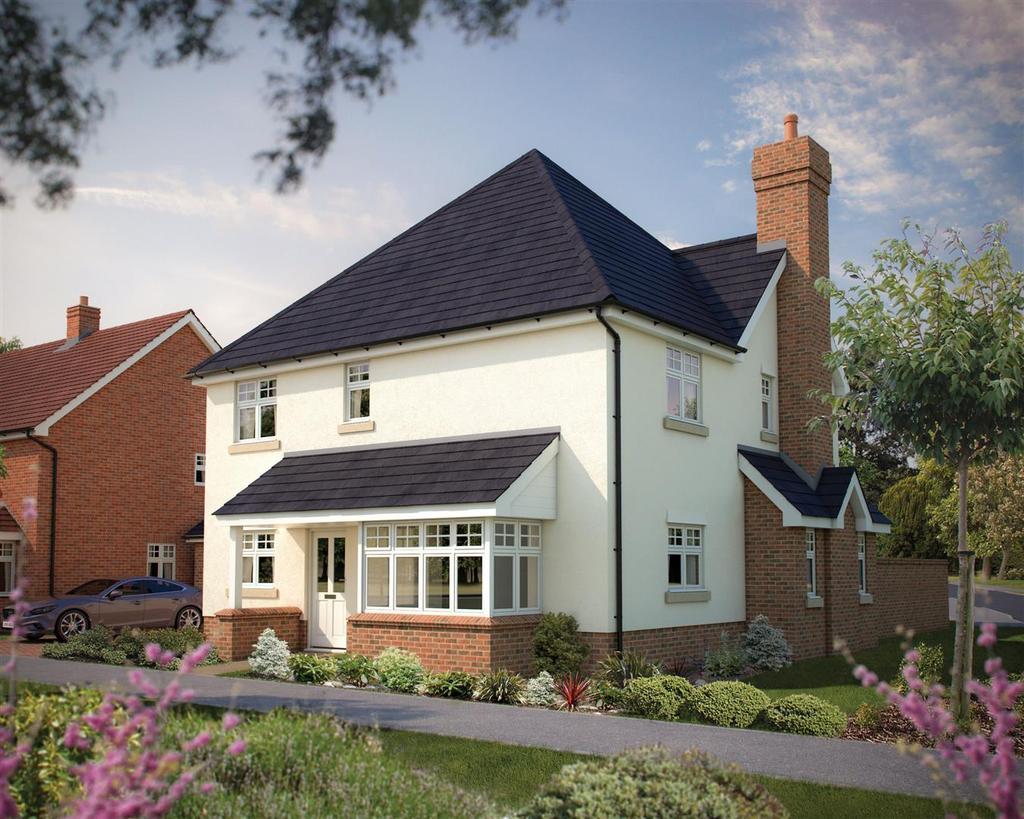 4 Bedrooms Detached House for sale in Burfield Grange, Hellingly, Hailsham