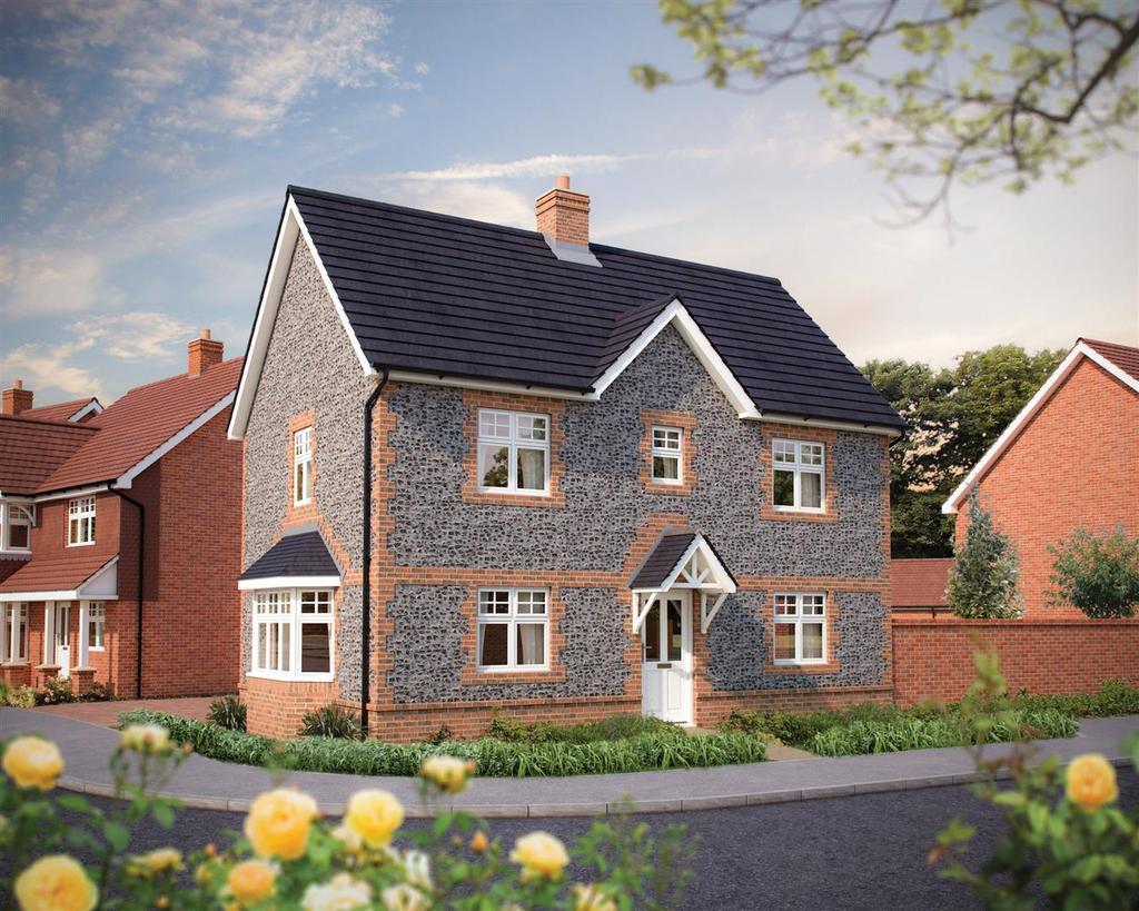 3 Bedrooms Detached House for sale in Burfield Grange, Hellingly, Hailsham