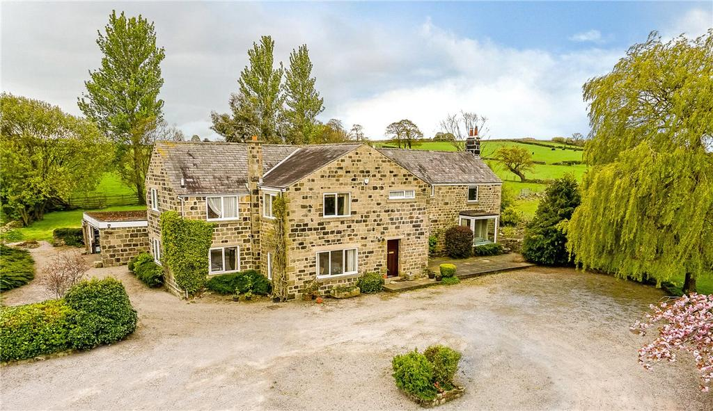 5 Bedrooms Detached House for sale in Longacre, Hollins Lane, Hampsthwaite, Near Harrogate, HG3