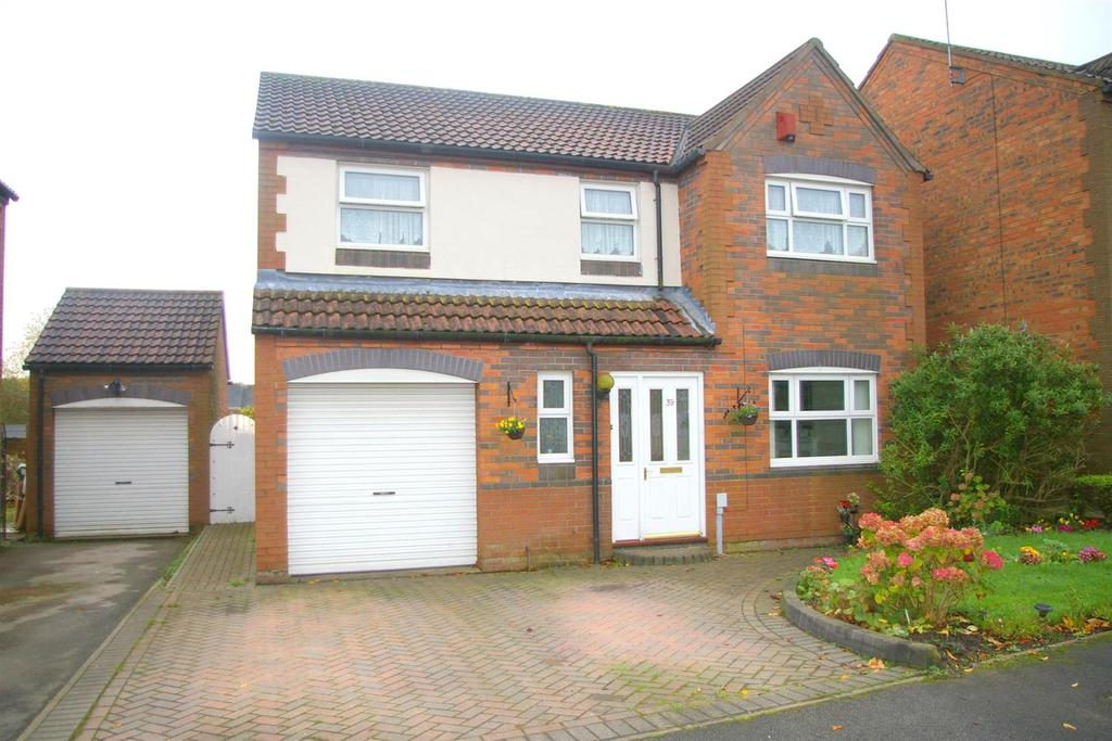 4 Bedrooms Detached House for sale in 39 Wingfield Way, BEVERLEY, East Riding of Yorkshire, HU17 8XE
