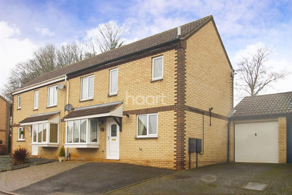 3 Bedrooms Semi Detached House for sale in Ecton Park Road, Ecton Brook, Northampton