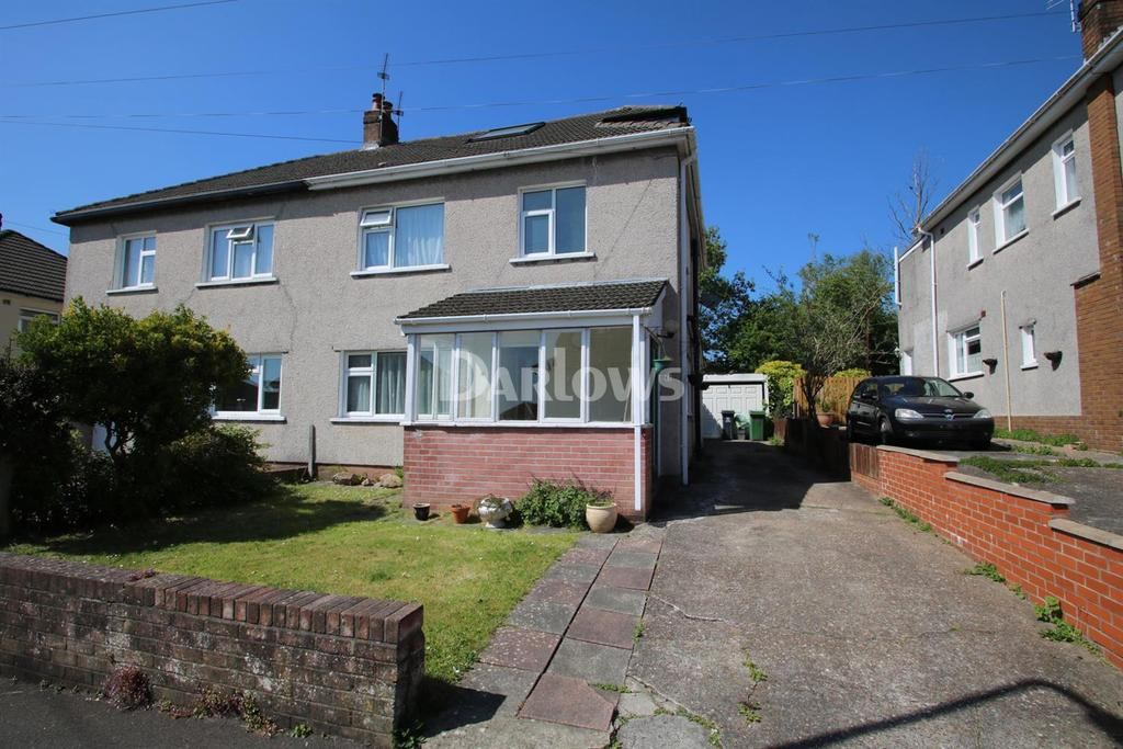 4 Bedrooms Semi Detached House for sale in Mayflower Avenue, Llanishen