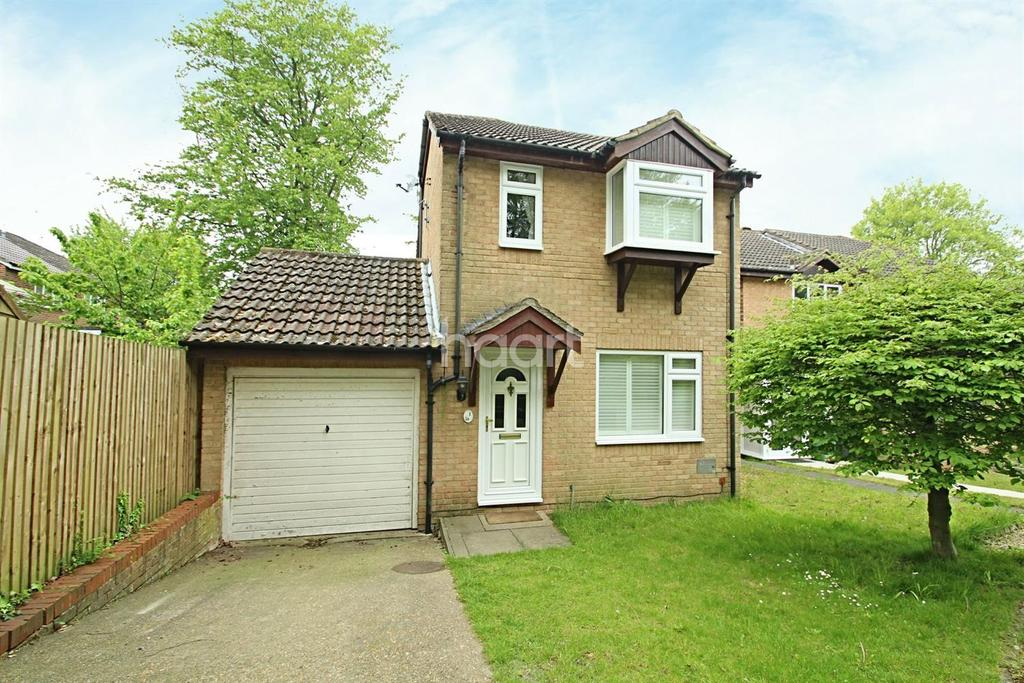 3 Bedrooms End Of Terrace House for sale in Micawber Close, Walderslade Woods