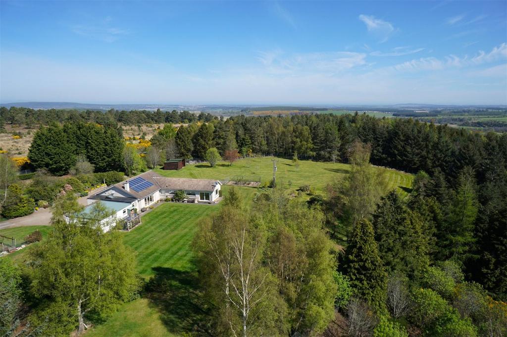 4 Bedrooms Detached Bungalow for sale in Sunny Knowe, Kellas, Elgin, Moray, IV30