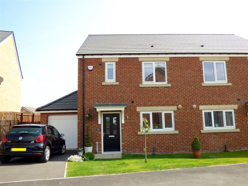 3 Bedrooms Semi Detached House for sale in Primrose Lane, Newbottle, Houghton Le Spring