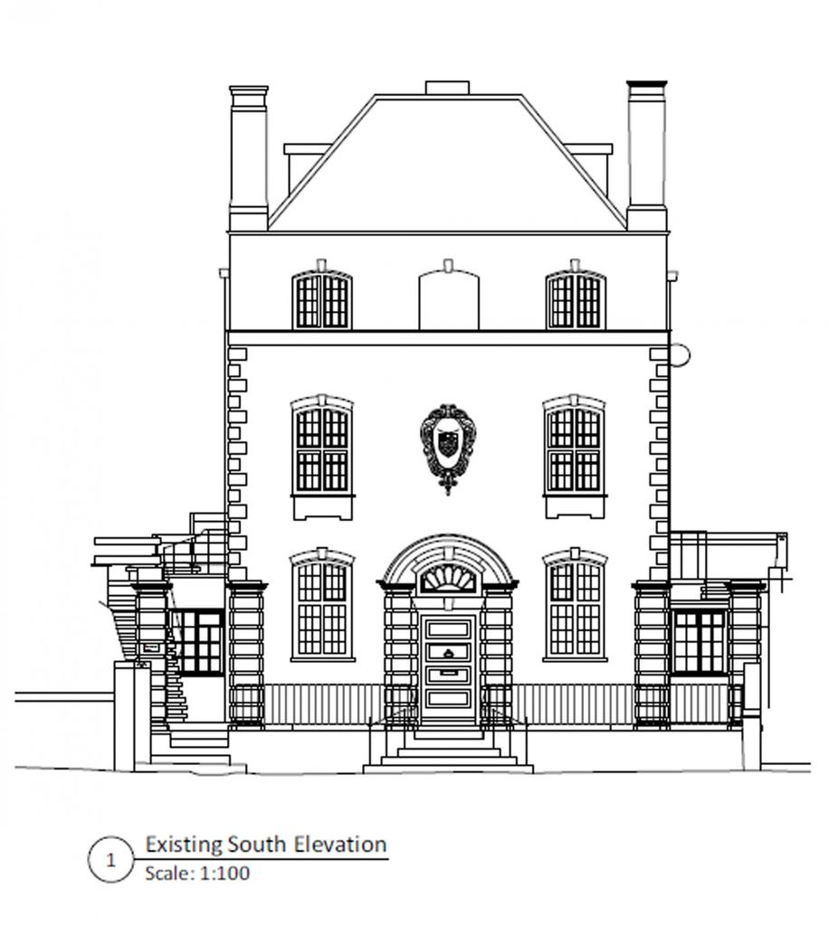 Front Elevation Beds : Westminster house station road pulborough west sussex