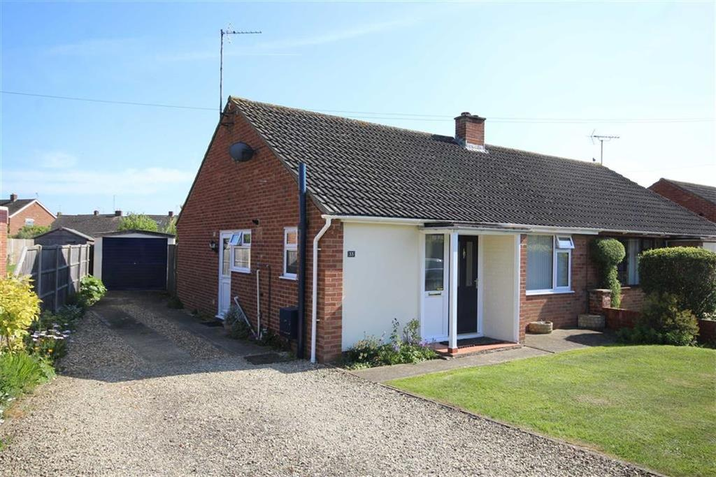2 Bedrooms Semi Detached Bungalow for sale in Digby Drive, Mitton, Tewkesbury, Gloucestershire