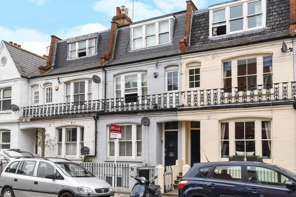 4 Bedrooms Terraced House for sale in Hazlebury Road, Fulham