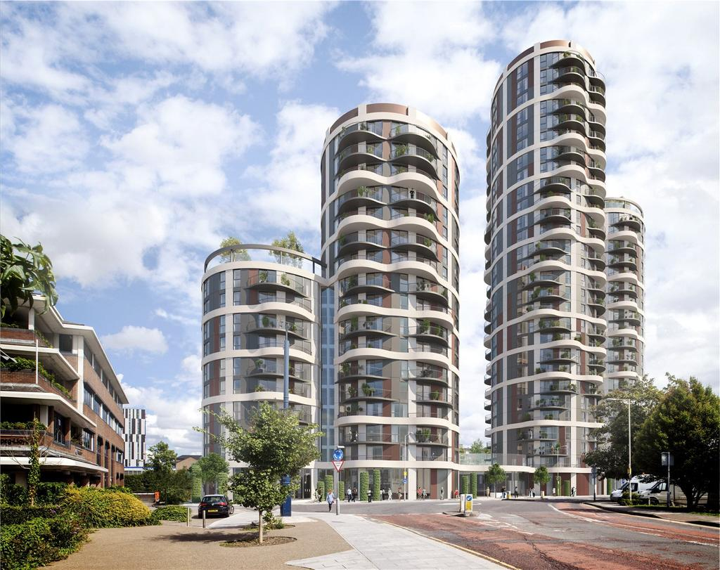 2 Bedrooms Apartment Flat for sale in 360 Barking, Cambridge Road, IG11