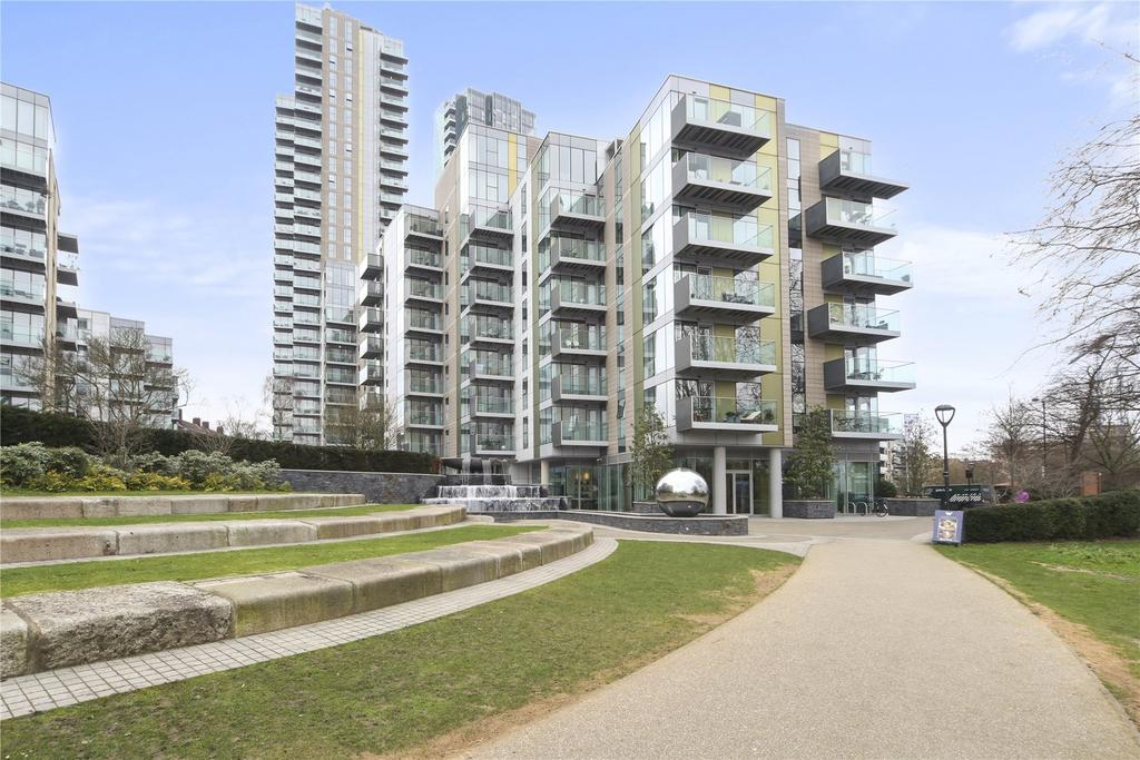 2 Bedrooms Flat for sale in Riverside Apartments, Goodchild Road,, London, N4