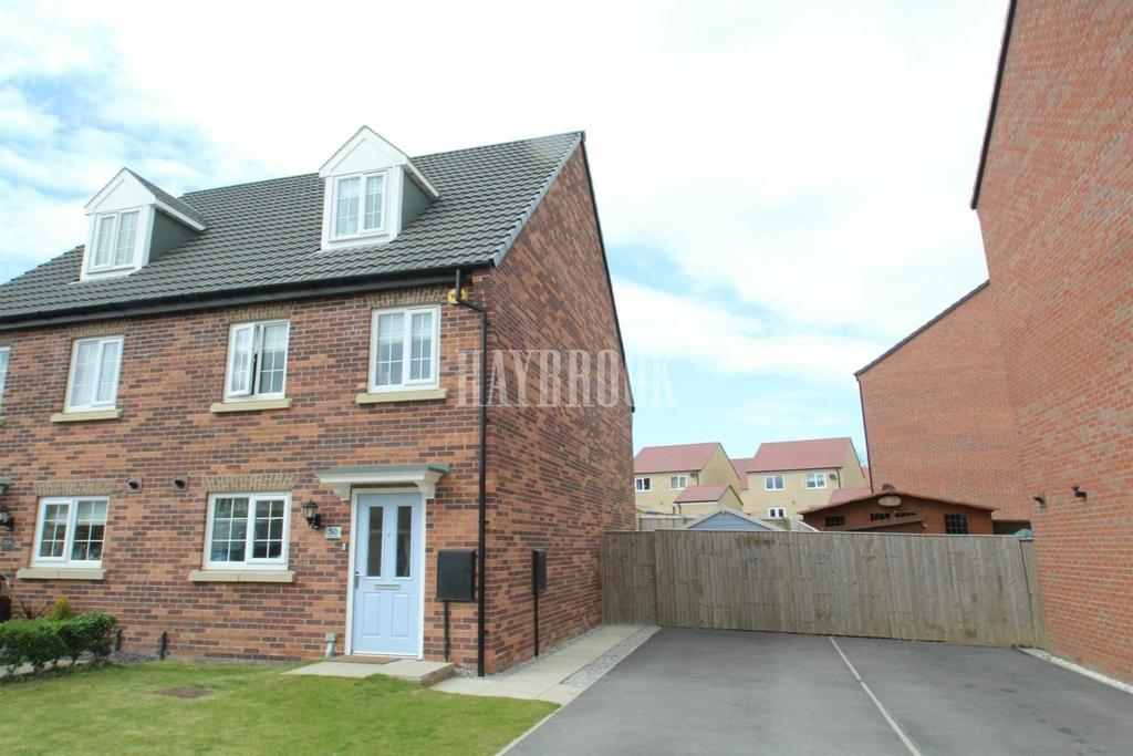 3 Bedrooms Semi Detached House for sale in Gower Way, Upper Haugh