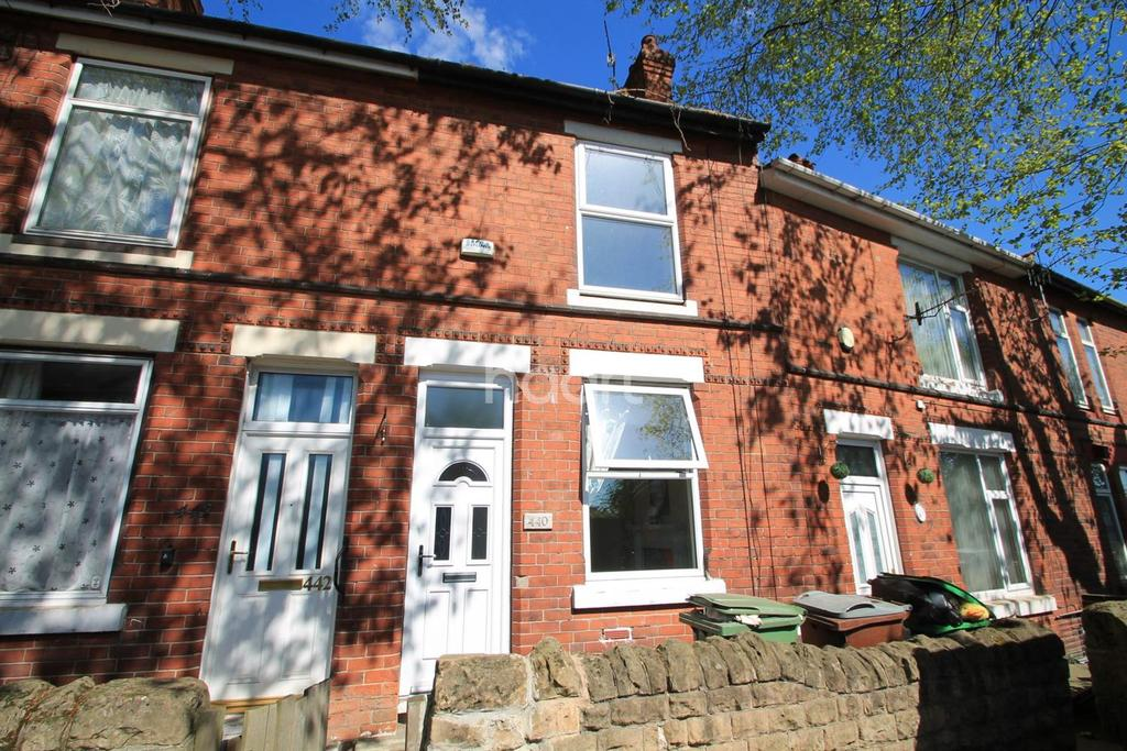 2 Bedrooms Terraced House for sale in Vernon Road, Basford, Nottingham