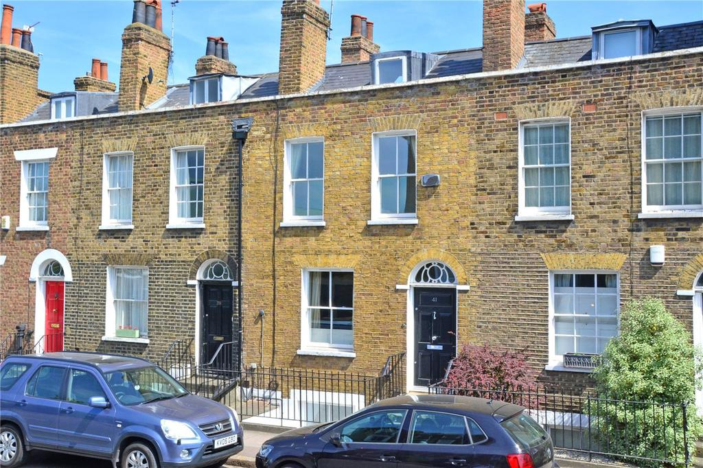 3 Bedrooms Terraced House for sale in Greenwich South Street, London, SE10