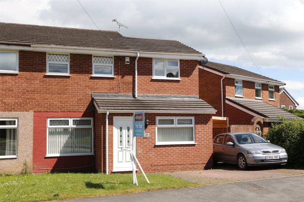 3 Bedrooms Semi Detached House for sale in Ashburn Way, Kingsmills, Wrexham, LL13