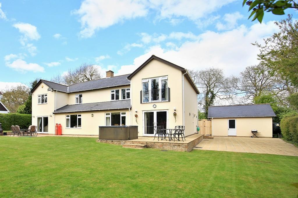 5 Bedrooms Detached House for sale in The Cedars,Windsor Green, Cockfield, Bury St. Edmunds.IP30 0LY