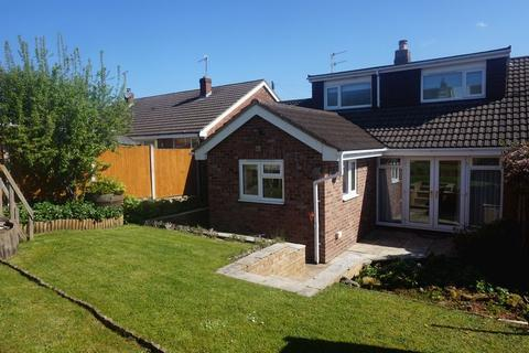 3 bedroom semi-detached bungalow for sale - Kestrel Close, Knypersley