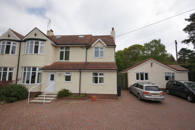 6 Bedrooms Semi Detached House for sale in Neston Road, Burton