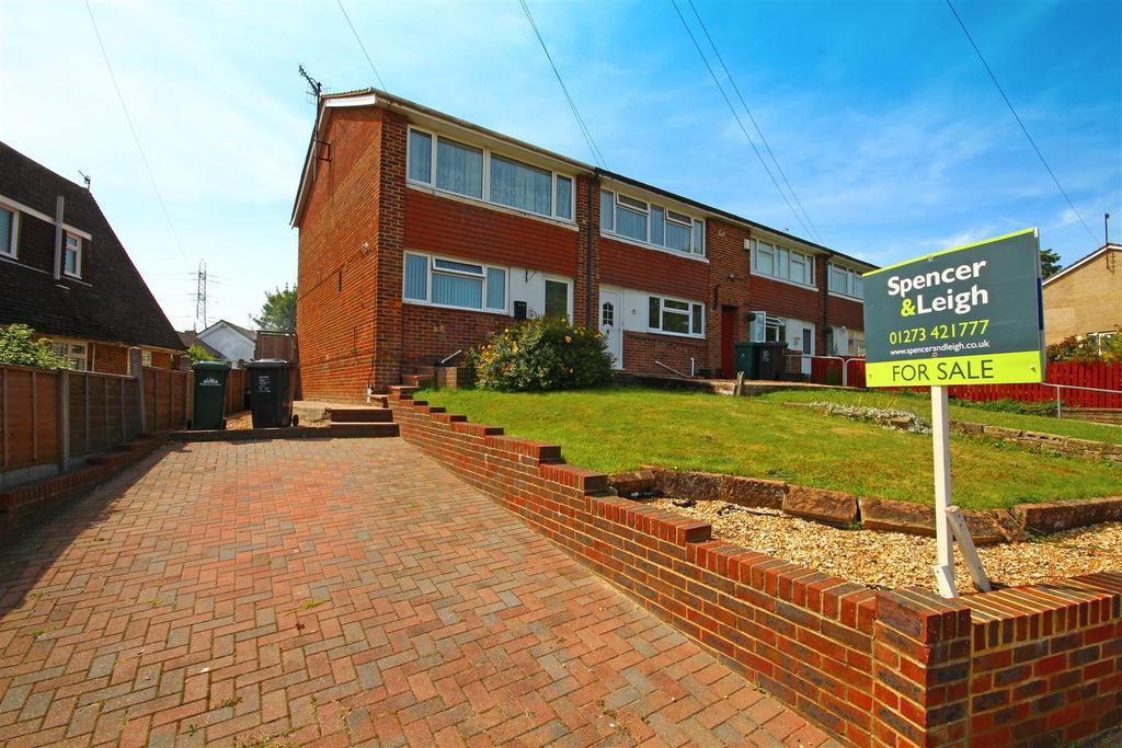 3 Bedrooms End Of Terrace House for sale in Mile Oak Road, Portslade, Brighton