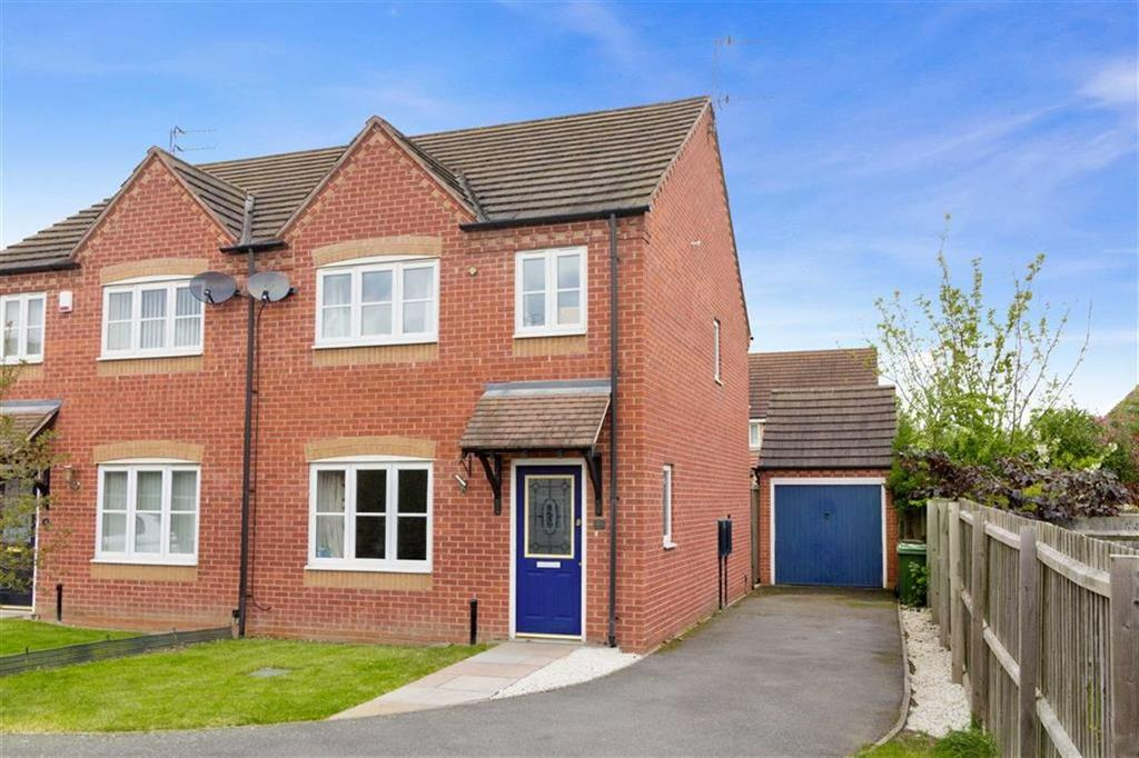 3 Bedrooms Semi Detached House for sale in Newstead Way, Loughborough, LE11
