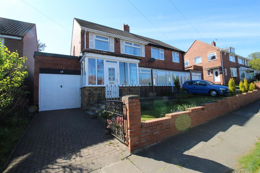 3 Bedrooms Semi Detached House for sale in Coach Road, Newcastle Upon Tyne