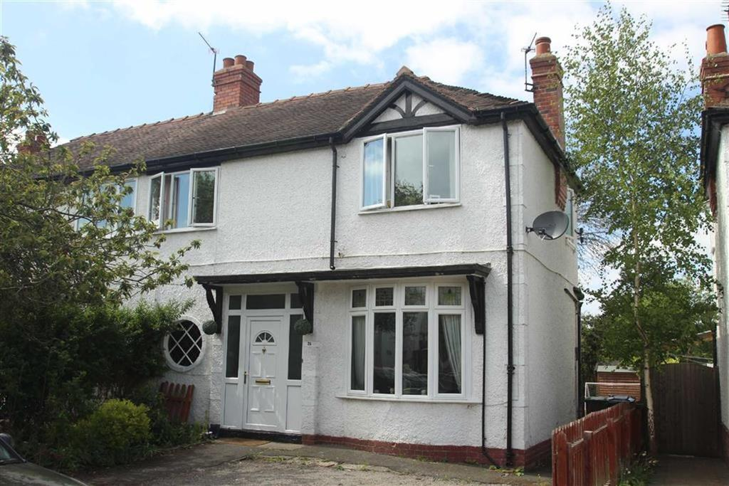 3 Bedrooms Semi Detached House for sale in Hafren Road, Copthorne, Shrewsbury