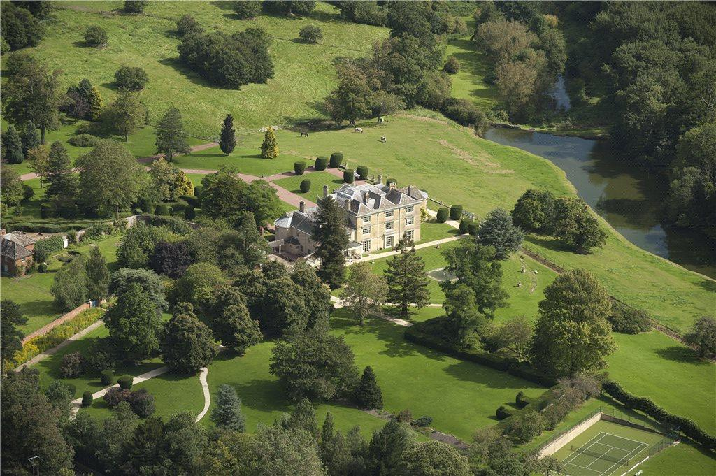 House, Lake Aerial