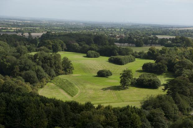 Aerial Of Park