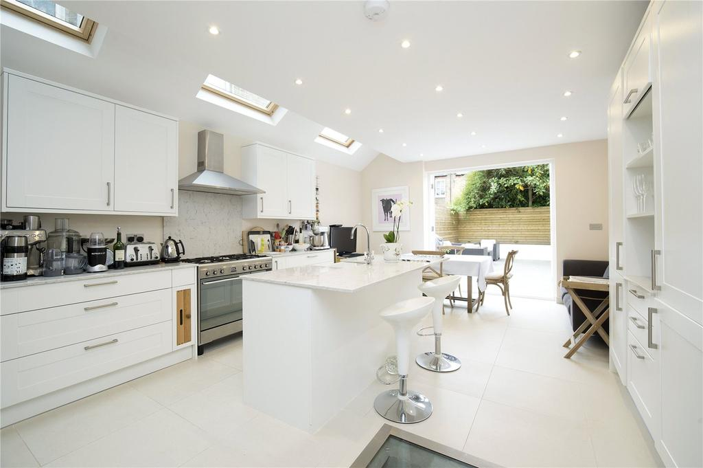 4 Bedrooms Terraced House for sale in Beltran Road, Fulham, London