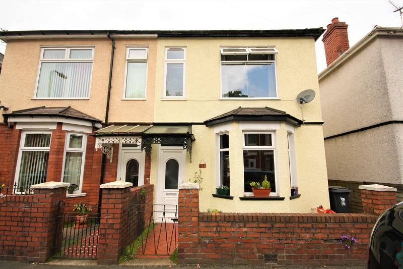 3 Bedrooms Semi Detached House for sale in Aston Crescent, Newport, Newport. NP20 5RA