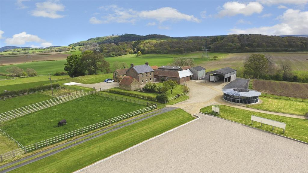 4 Bedrooms Equestrian Facility Character Property for sale in Kirby Sigston, Northallerton, North Yorkshire