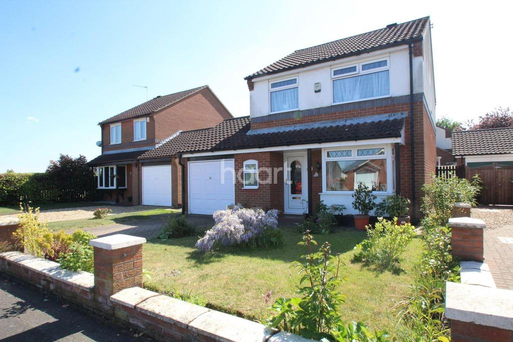3 Bedrooms Detached House for sale in Melbourne Road, Lincoln, LN6