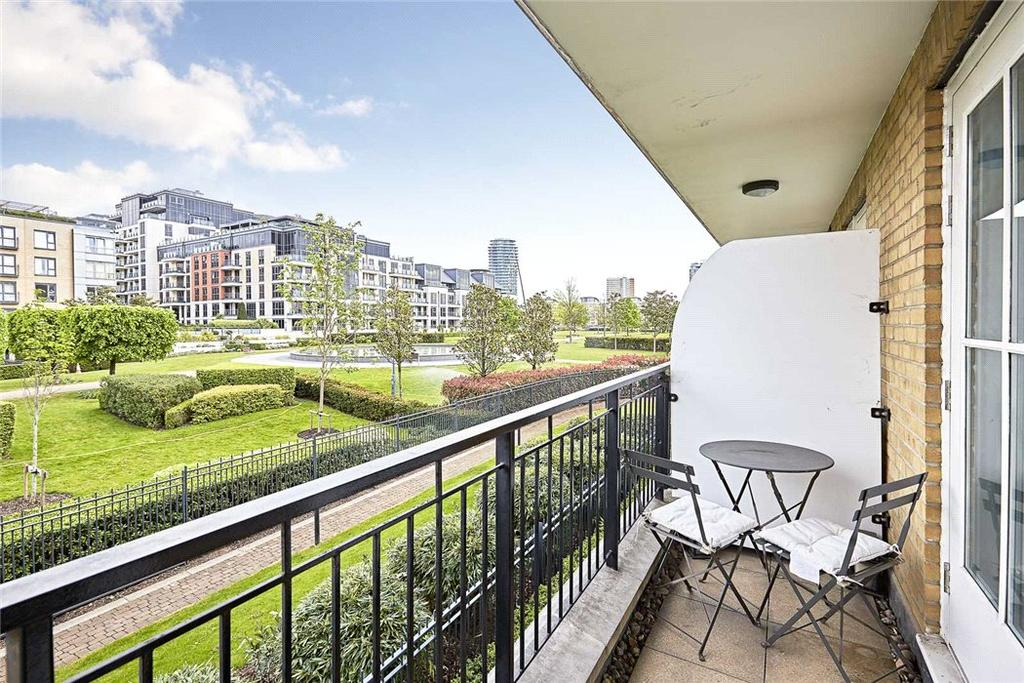 3 Bedrooms Flat for sale in Greensward House, Imperial Crescent, Imperial Wharf, London, SW6