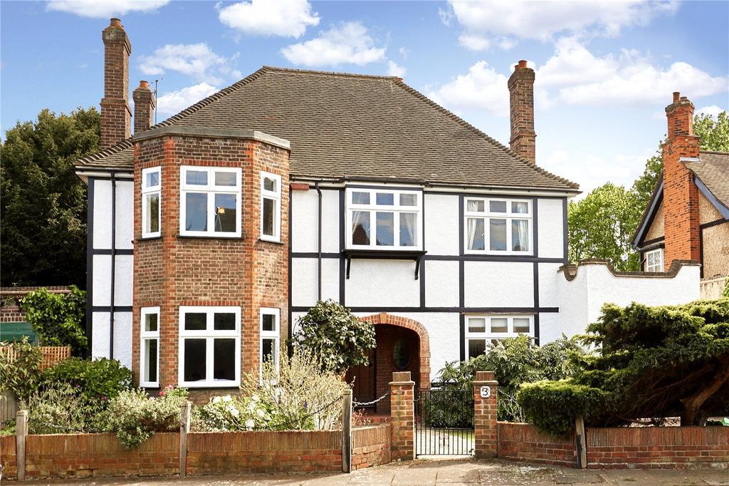 4 Bedrooms Detached House for sale in Crosslands Avenue, Ealing, London, W5