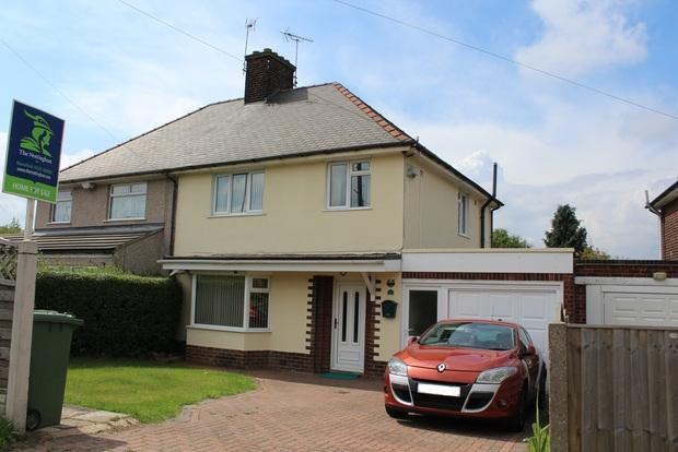 3 Bedrooms Semi Detached House for sale in Abbott Road, Mansfield, NG19