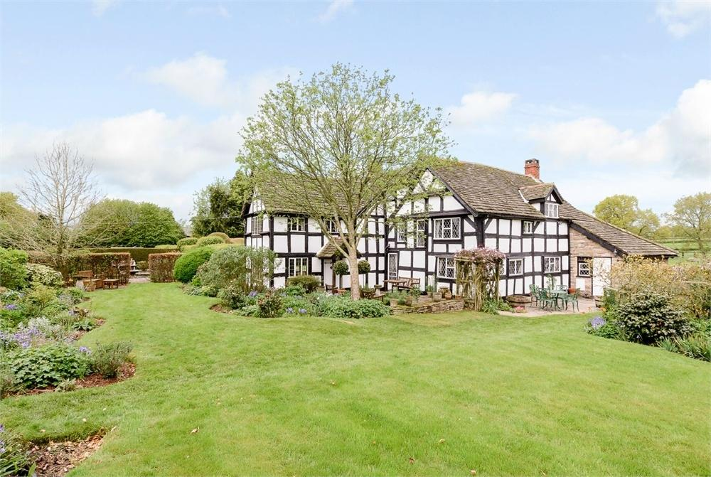 5 Bedrooms Detached House for sale in Woonton, Herefordshire