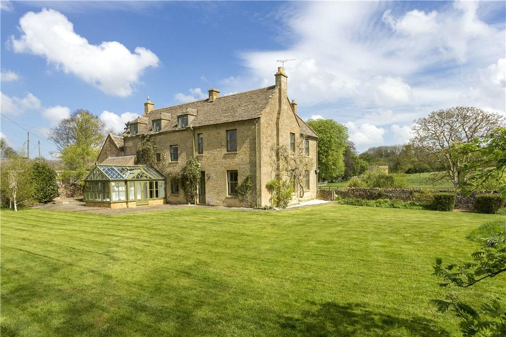 6 Bedrooms Detached House for sale in Upper Coscombe, Temple Guiting, Cheltenham, Gloucestershire, GL54