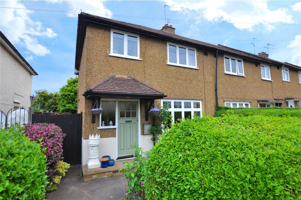 3 Bedrooms End Of Terrace House for sale in Aubrey Avenue, London Colney, St. Albans